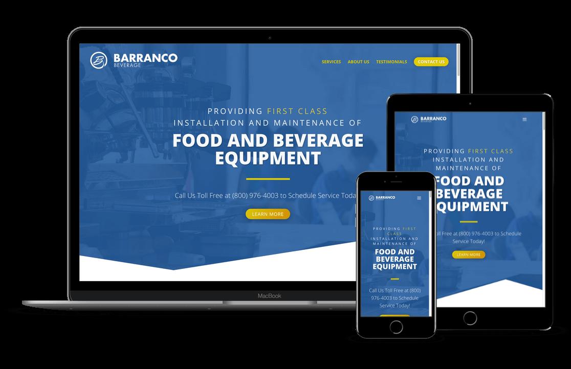 Barranco Beverage - Alpharetta, GA Website Designer
