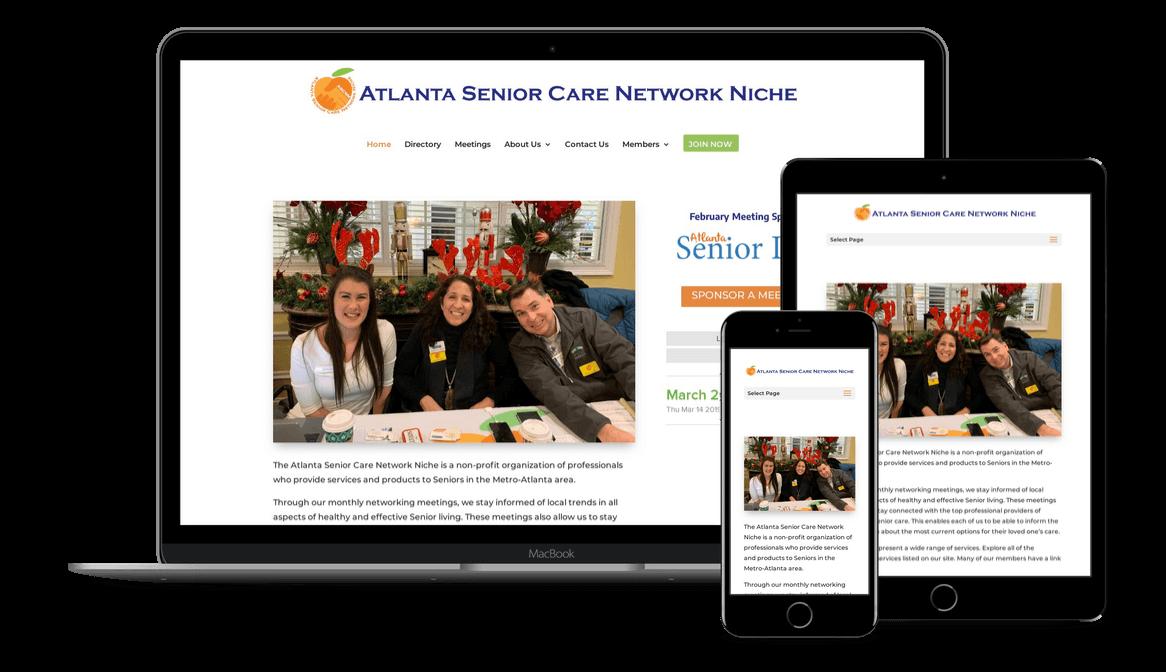 Membership Website Design & Development in Atlanta