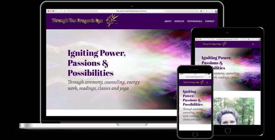 Health Services Website Design Alpharetta GA