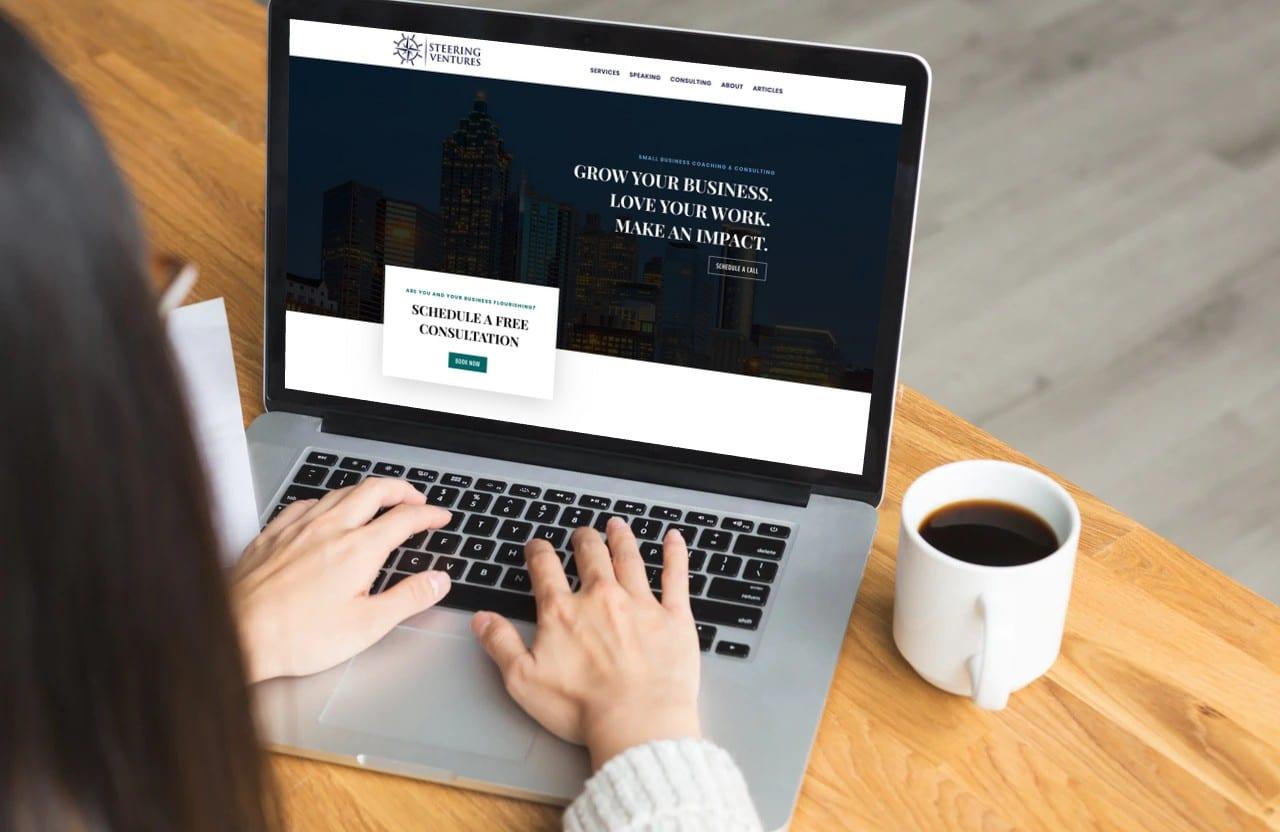Steering Ventures — Website Design & Development in Atlanta, GA