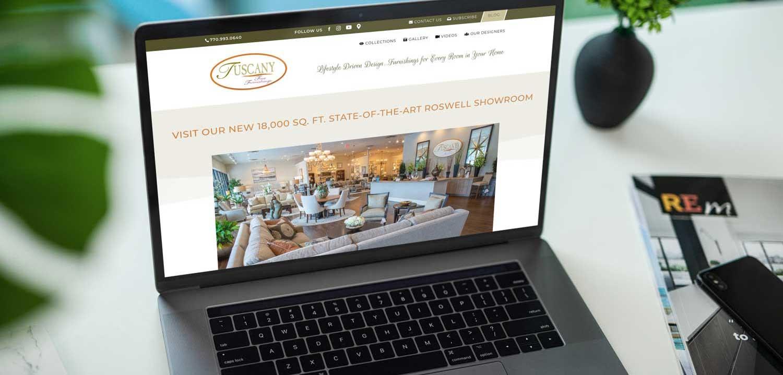 alpharetta web design case study